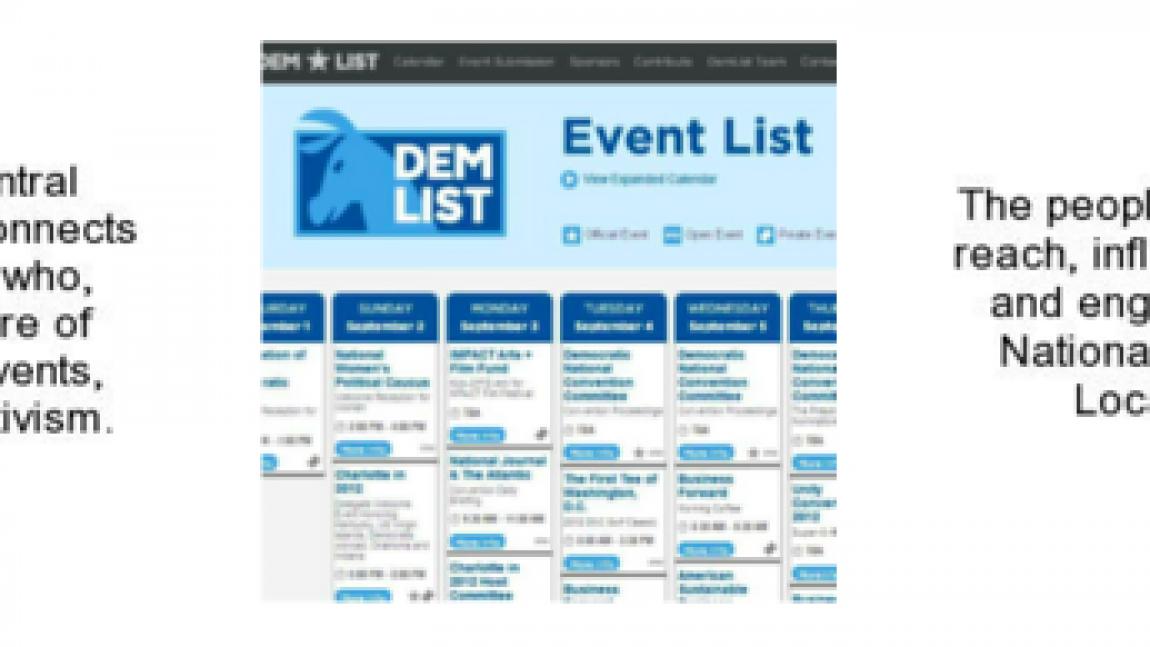 Demlist 2.0:  Coming Attractions!