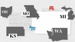 DemDaily: The Take On Tuesday's Primaries (KS, MI, MO, WA & OH Special!)