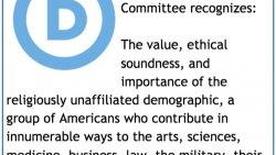 DemDaily: Recognizing Non-Religious Voters