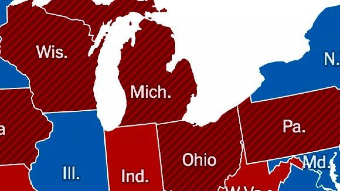 DemDaily: The State of Eight Battleground States