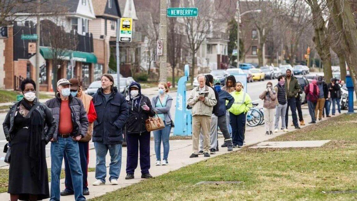 DemDaily: Wisconsin: Votes vs. Virus