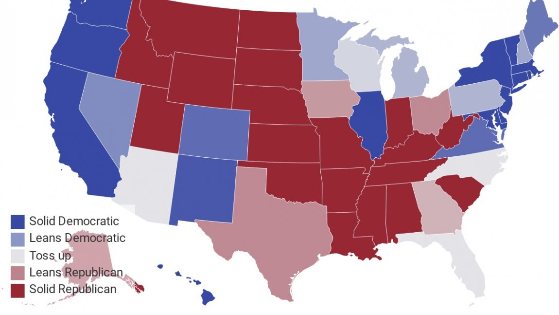 DemDaily: Presidential Race Ratings! and the Electoral College