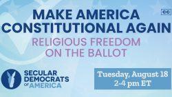 DemDaily: Religious Freedom on the Ballot