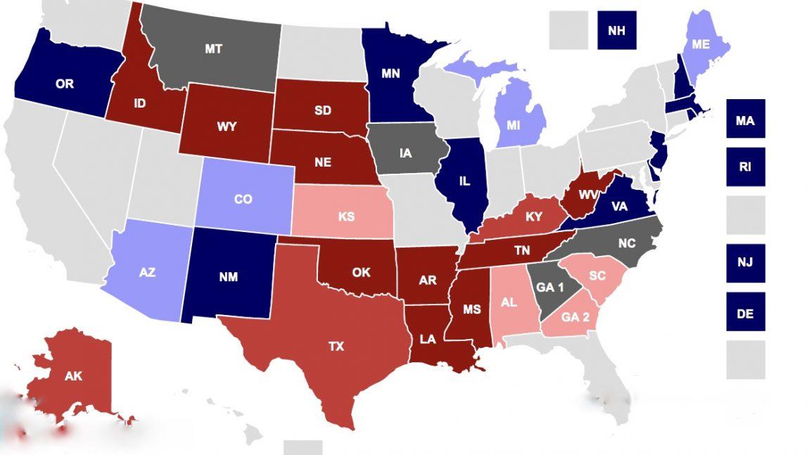 DemDaily: Status of the Senate: Race Ratings!