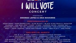 DemDaily: Tonight's I Will Vote Concert: 50 Artists, Cher, Bon Jovi, Sara Bareilles, John Legend