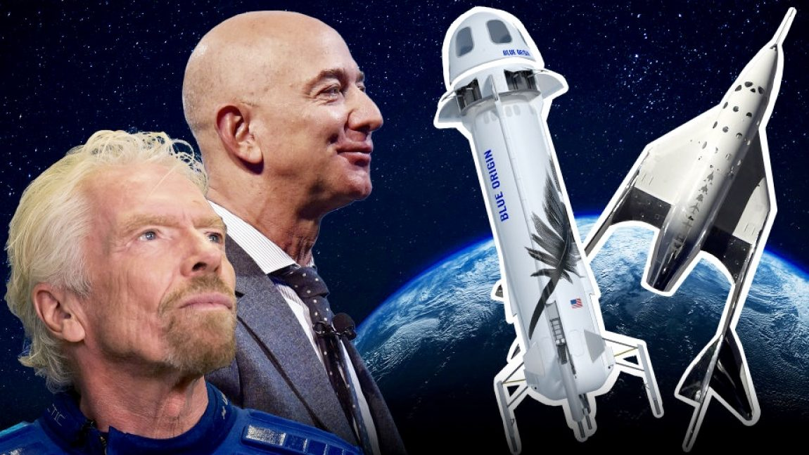DemDaily: The Race To Space. Billionaire Boys and Their Toys