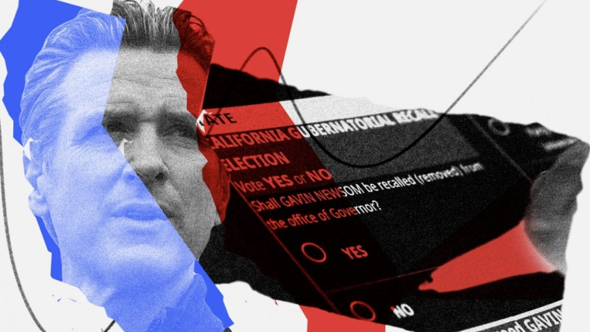DemDaily: Newsom's Recall Reality. Next Tuesday's Election.